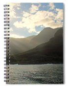Napali Coast Sunrise Spiral Notebook