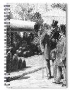 Napoleon IIi At Paris, 1867 Spiral Notebook