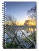 Narrow Iron Bridge Spiral Notebook