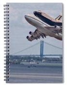 Nasa Enterprise Space Shuttle Spiral Notebook