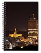 Nashville Cityscape 5 Spiral Notebook