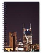 Nashville Cityscape 6 Spiral Notebook