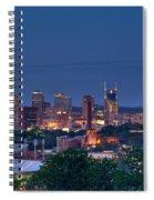 Nashville Cityscape 7 Spiral Notebook