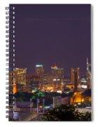 Nashville Cityscape 9 Spiral Notebook