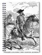Nathan Bedford Forrest (1821-1877) Spiral Notebook