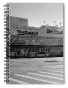Nathan's Original In Black And White Spiral Notebook