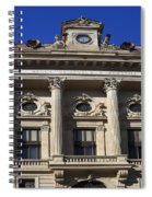 National Bank Of Romania Spiral Notebook