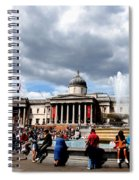 National Gallery At Trafalgar Square Spiral Notebook