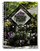 National Orchid Garden Inside The Singapore Botanic Garden Spiral Notebook