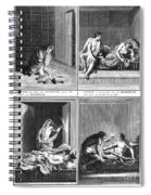 Native American Courtship Spiral Notebook