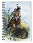 Native American Hunter Spiral Notebook