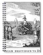 Native American Punishment Spiral Notebook