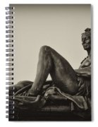 Native American Statue - Eakins Oval Philadelphia Spiral Notebook