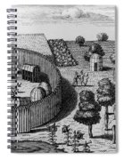 Native American Village Spiral Notebook