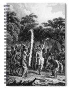 Native Americans: Dance Spiral Notebook