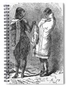 Native Americans: Flatheads Spiral Notebook