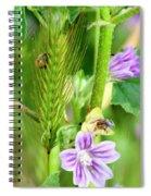 Natural Bouquet Spiral Notebook