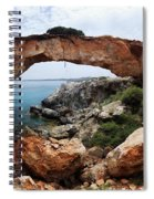 Natural Bridge - Cape Gkreko - Cyprus Spiral Notebook
