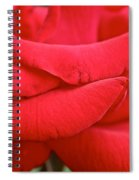 Natural Red Carpet Spiral Notebook