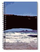 Natural Stone Bridge - Aruba Spiral Notebook