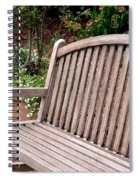Natural Wood Spiral Notebook