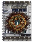Natural Wreath Spiral Notebook