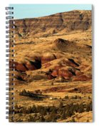 Naturally Painted Hills Spiral Notebook