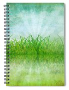 Nature And Grass On Paper Spiral Notebook