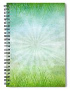 Nature Grunge Paper Spiral Notebook