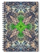 Nature Mandala Spiral Notebook