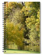 Nature Of The Fall Spiral Notebook