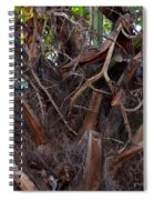 Nature's Abstract Spiral Notebook
