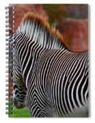 Nature's Barcode Spiral Notebook