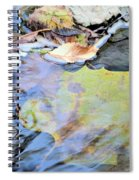 Nature's Leaf Collage Spiral Notebook