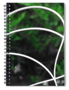 Nature's Natural Curves Spiral Notebook