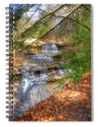 Natures Shadows And Light Spiral Notebook
