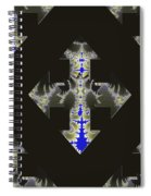 Nautical Cross Spiral Notebook