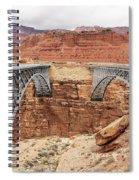 Navajo Bridge In Arizona Spiral Notebook