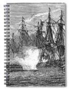 Naval Battle, 1813 Spiral Notebook