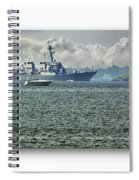Naval Ship Spiral Notebook