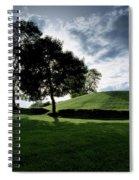 Navan Fort, Co Armagh, Ireland Spiral Notebook