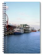 Navy Pier Chicago Summer Evening Spiral Notebook