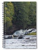 Nawadaha Falls 1 Spiral Notebook