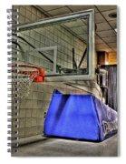 Nba Hoop Auburn Hills Mi Spiral Notebook