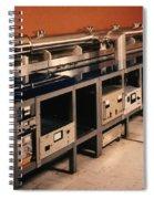 Nbs-6 Atomic Clock Spiral Notebook