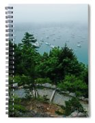 Ne Harbor Maine Seen From Thuya Gardens Mt Desert Island  Spiral Notebook