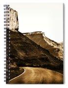 Nearing Moab Spiral Notebook