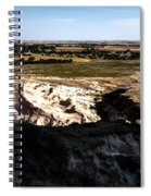 Nebraska Plains Spiral Notebook