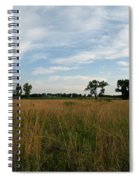 Nebraska Prairie One Spiral Notebook