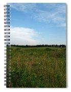 Nebraska Prairie Two Spiral Notebook
